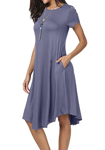 levaca Womens Sleeve Casual Pockects product image