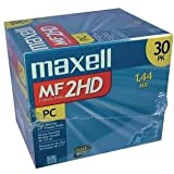 MAXELL 556531 Floppy Disks 30-pk