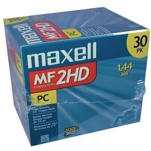 MAXELL 556531 Floppy Disks 30-pk by Maxell