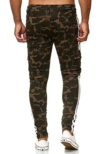 Jeans Camuffamento Pantaloni Gutti Leo H2499 Fit Slim Uomo 1 Camuffamento EfIwwU