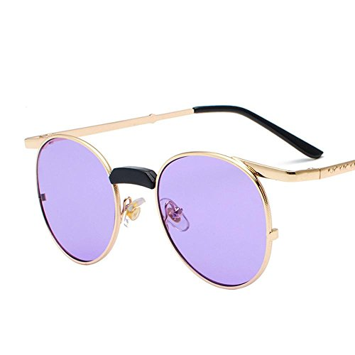d26aee4263 Aoligei Rétro femme lunettes de soleil lunettes de soleil de personnalité  de couleur lunettes de petit