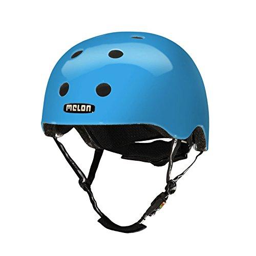 [해외]Melon Helmets (멜론 헬멧) 퓨어 성인용 XL-XXL 크기 58-63cm [자석 식 버클, 다이얼 식 스 터] 시안 EBMH1017 / Melon Helmets (melon helmet) Pure adult XL-XXL size 58-63cm [Magnet type buckle, dial adjuster] Cyan EBMH1017