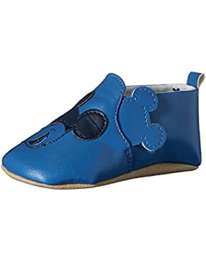 Boys Prewalker Mickey Slip On Sneaker (Infant/Toddler)