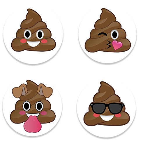 [Fridge Emoji Poop Magnets, Set of 4 Emojis Poo Faces, 2.25 inch, Cute Emoji Refrigerator Kitchen Magnet for Home Decor, Office Gift for Men & Women, School Lockers, or Kids Party Favors, Made in] (Zipper Costume Face)