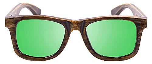 PALOALTO - Gafas de sol Sausalito bambú capeado negro ...