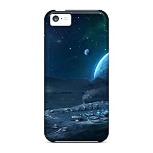 NikRun TaVKL3828vFJHz Case Cover Iphone 5c Protective Case Dawn Of Dust Online Game