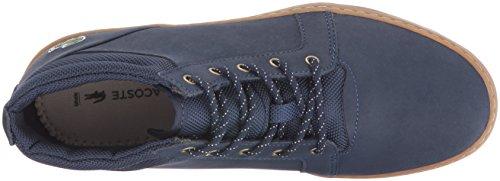 Lacoste Women's Ampthill Chukka 416 1 Spw Fashion Sneaker, Navy, 8.5 M US