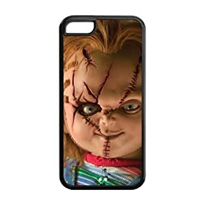 5C Phone Cases, Devil Doll Hard TPU Rubber Cover Case for iPhone 5C