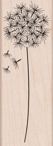 Hero Arts Woodblock Stamp, Dandelion