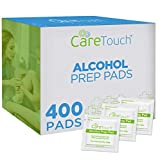 Care Touch Sterile Alcohol Prep Pads, Medium 2-Ply - 400 Alcohol Wipes: more info