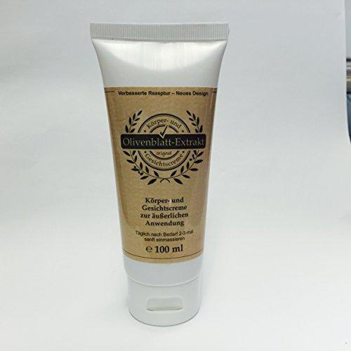 Olivenblatt-Extrakt-Creme 100ml Tube