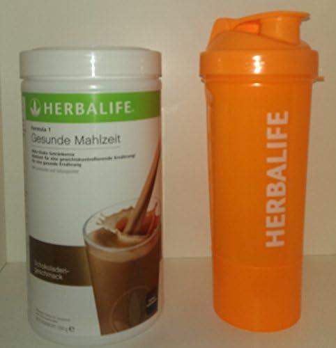 HERBALIFE Formula 1 Gesunde Mahlzeit Schoko - mit Neon Shaker- 550 g