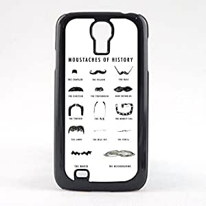 Case Fun Case Fun Moustaches of History Snap-on Hard Back Case Cover for Samsun Galaxy S4 Mini (I9190)