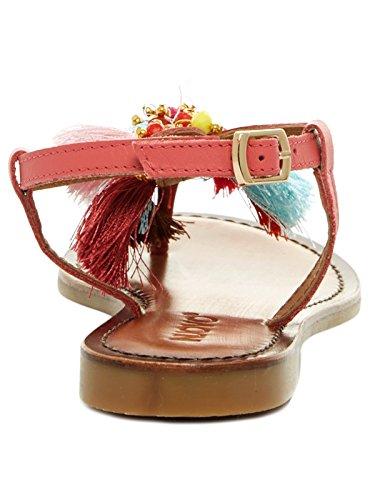 Inuovo 7378 - Sandalias de Gladiador Mujer Rosa