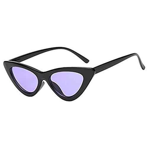5 Coloré Lentille Sunglasses Cat Voyage Vintage Eye Couleurs Lunettes Soleil Plastique De Plage 7OxWn