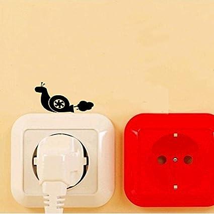 Amazon.com: Turbo Snail Silhouette Art Switch Sticker ...