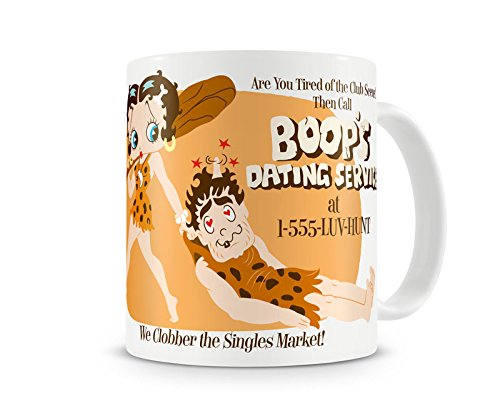 - Officially Licensed Betty Boop Dating Service Coffee Mug