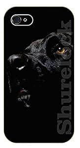 iPhone 6 Case Black face labrador - black plastic case / dog, animals, dogs
