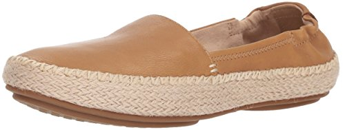 Sperry Top-Sider Women's Sunset Ella Leather Loafer Flat Tan