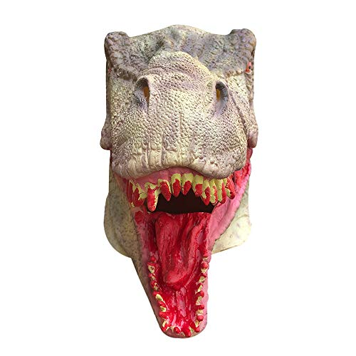 Blackcat Bloody Zombie Mask Melting Face Latex Costume Walking Dead Halloween Scary Mask (AS Show) -