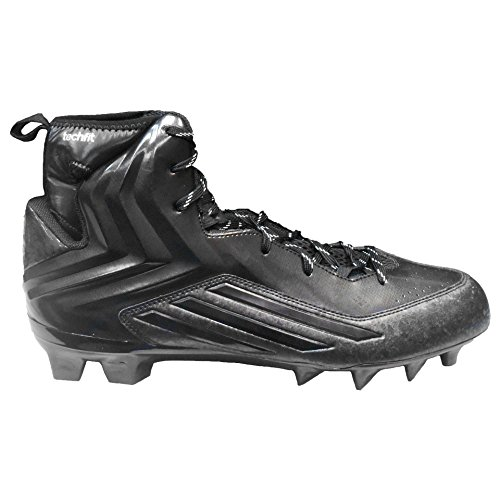 adidas Men's Crazyquick 2.0 High Football Cleats (14 M US, Black)