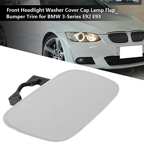 Headlight Washer Cover Cap Lamp Flap Bumper Trim For BMW 3-Series E92 E93