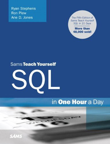 Sams Teach Yourself SQL in One Hour a Day Epub