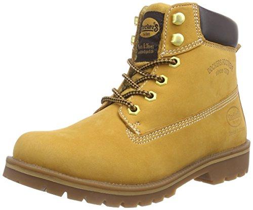 Dockers 35AA303 - Botas de cuero para mujer beige - Beige (golden tan 910)