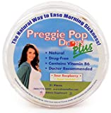 Three Lollies Preggie Pop Drops Plus with Vitamin B6 for Morning Sickness Relief, 21 count, Health Care Stuffs