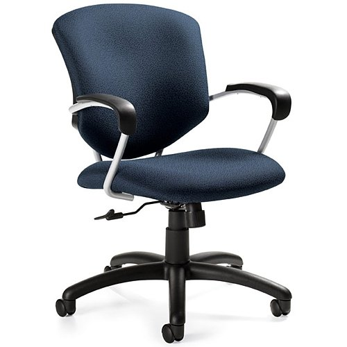 - Global Supra Mid-Back Managers Tilter Chair, Sapphire 53314UBS106