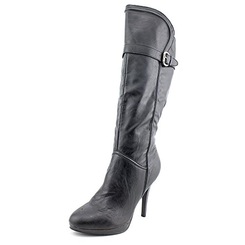 Style & Co. Frauen Fiesty Pumps rund Fashion Stiefel Black