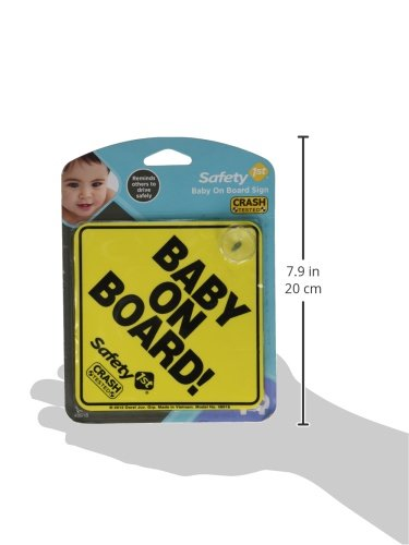 """Safety 1st """"Baby On Board"""" Sign"""