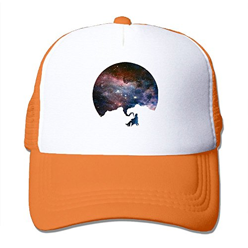 Space Galaxy Nebula Smoker Mesh Hat Men Womens Baseball Cap For Boys Girls Graphic Adjustable Snapback Hip Hop Cool Trucker Plain Flat Hats For Dance,Neo-Jazz,Street Jazz,Reggea