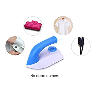 Travel Mini Electric Thermostat Handheld Coated Plate Iron for Collar Cuff