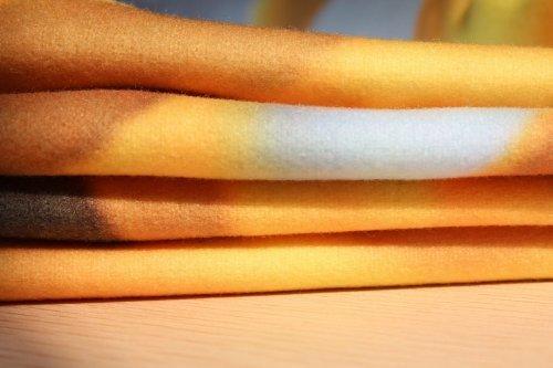 Nice Geometric Moose on Wood Fleece Throw Blanket - Blanket 58'' x 80''(Large)