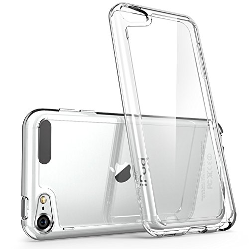 iPod Touch 6th Generation Case, [Scratch Resistant] i-BlasonClear [Halo Series] for Apple iTouch 5/6 Hybrid Bumper Case Cover (Itouch Cover)
