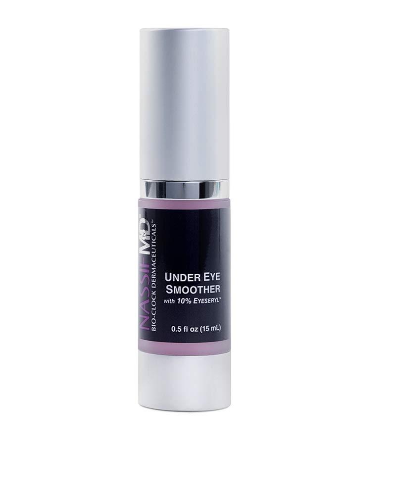 NassifMD Under Eye Cream - Skin Brightening Cream for Eye Care, Anti Wrinkle Cream for Eyes (0.5 fl oz)