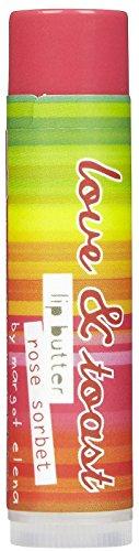 Love & Toast Lip Butter - Rose Sorbet-0.15 oz (Rose Sorbet)