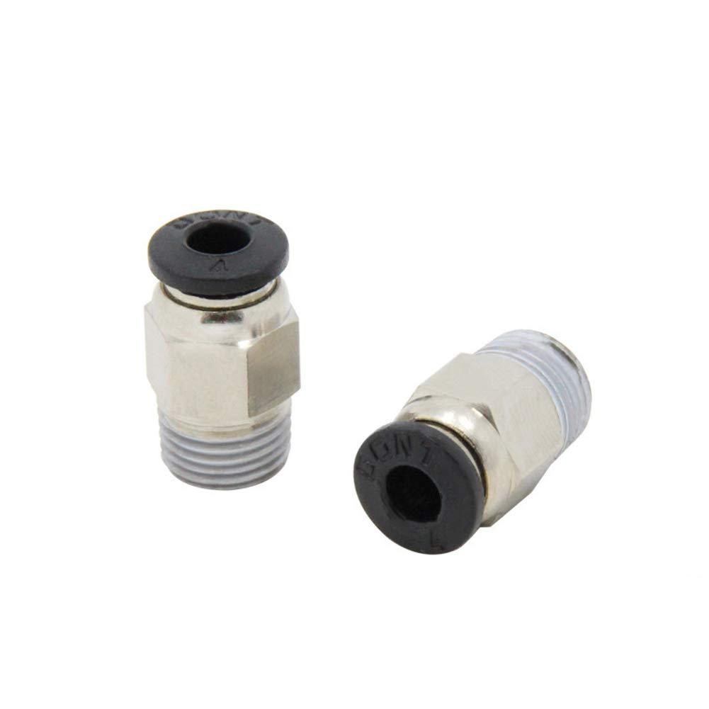 Conector neumático para Impresora 3D, Tubo PTFE, acoplador rápido ...