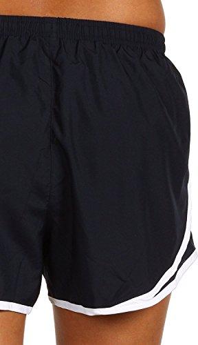 Women's Tempo White Obsidian Dark Short NIKE wYzTfAqq