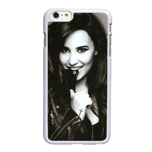 F5F71 Demi Lovato M4F8UP coque iPhone 6 4.7 pouces Cas de couverture de téléphone portable coque blanche DH1WFH3JO