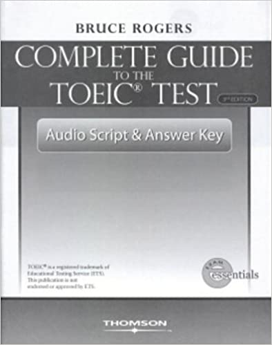 COMPLETE GUIDE TO TOEIC 3E-ANSWER KEY