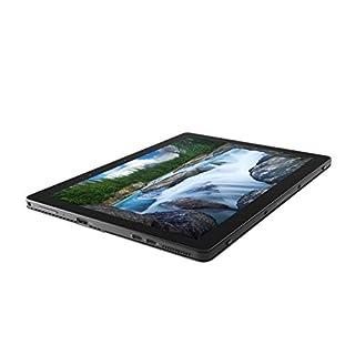 "Dell Latitude D9Y1T 2-in-1 Notebook (Windows 10 Pro, Intel i7-8650U, 12.3"" LCD Screen, Storage: 512 GB, RAM: 16 GB) Black"