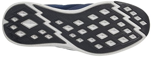 Skechers air nvor Blu Qtr W Overlay Scarpe coo Lace Outdoor Up Sportive Uomo rxrTp4wqg