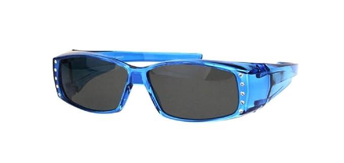 Amazon.com: Gafas de sol polarizadas con diamantes de ...