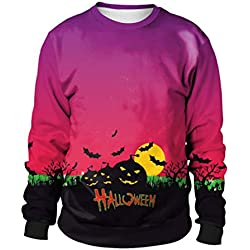 Purple Halloween Ugly Sweatshirt