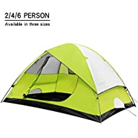 STAR HOME Family Camping Tents 3 Season Backpacking Tents...