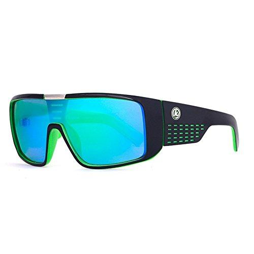 Sol Gafas Coloridas Prueba Los KTYX De del Hombres Marco UV Gafas A Viento Gafas Sol Sol de C52 C57 De Gafas Color Protección De De Grandes De Epwptq6