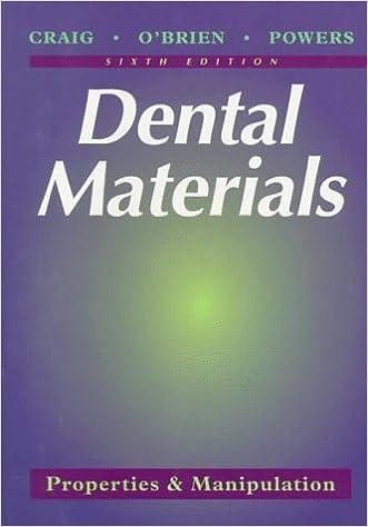 Dental Materials: Properties & Manipulation: 9780815119197: Medicine