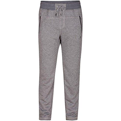 Hurley Men's Dri Fit Solar Fleece Pants, Cool Grey, Medium